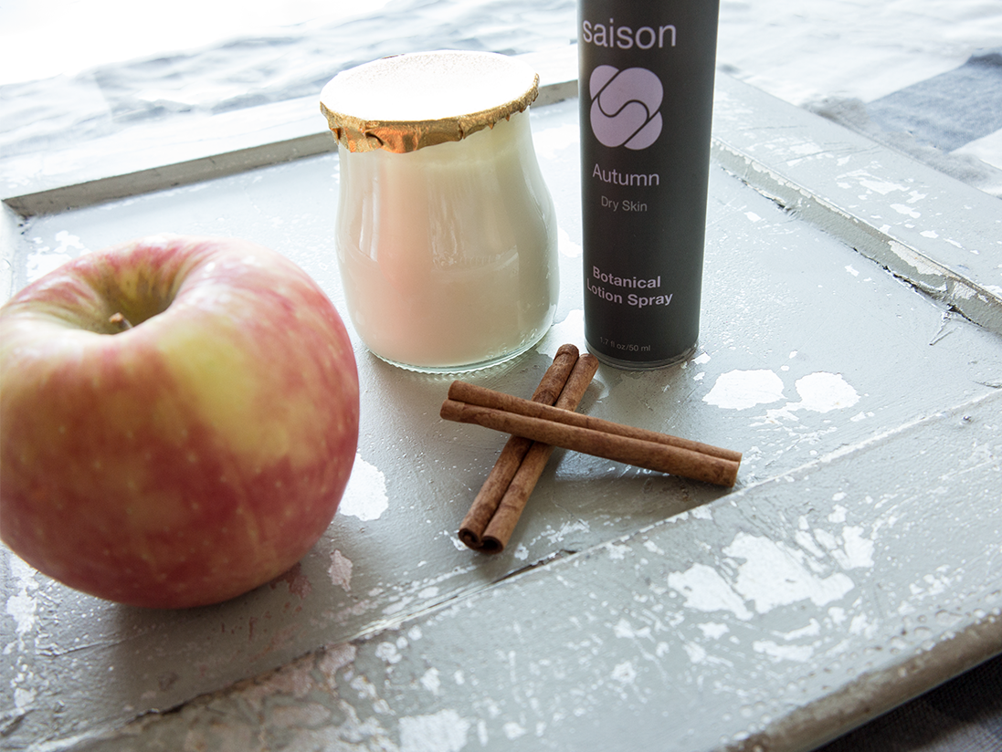Saison Apple Cinnamon Face Mask