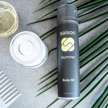 Steps To Silky Summer Skin With Saison Summer Body Oil