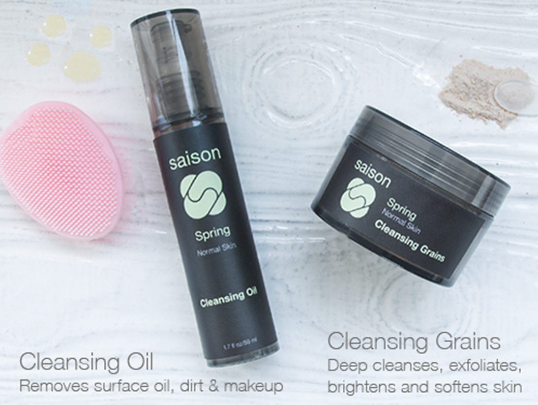 Double Cleansing With Saison Cleansing Duos