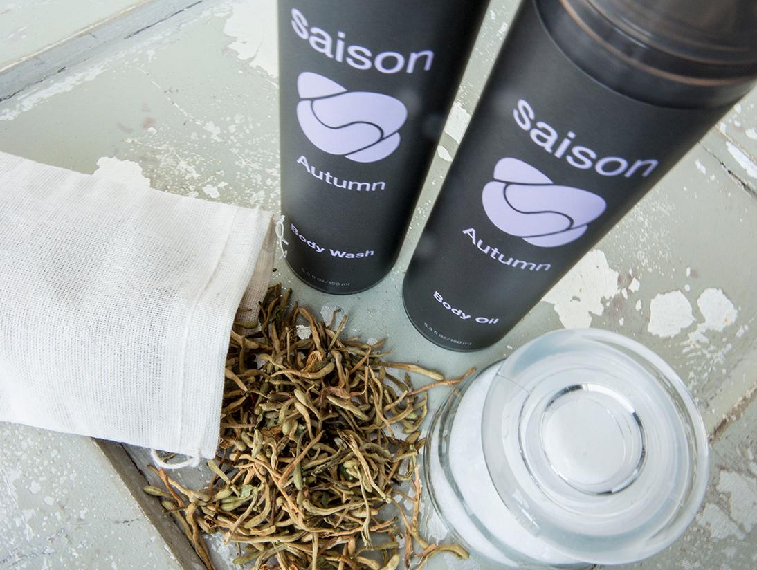 Saison Organic Cuppa Tea For Your Bath