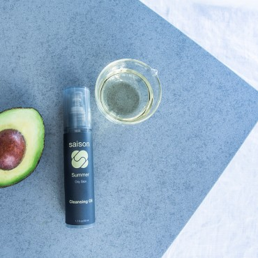 Saison Organic Avocado Oil Skincare | Saison Summer Cleansing Oil
