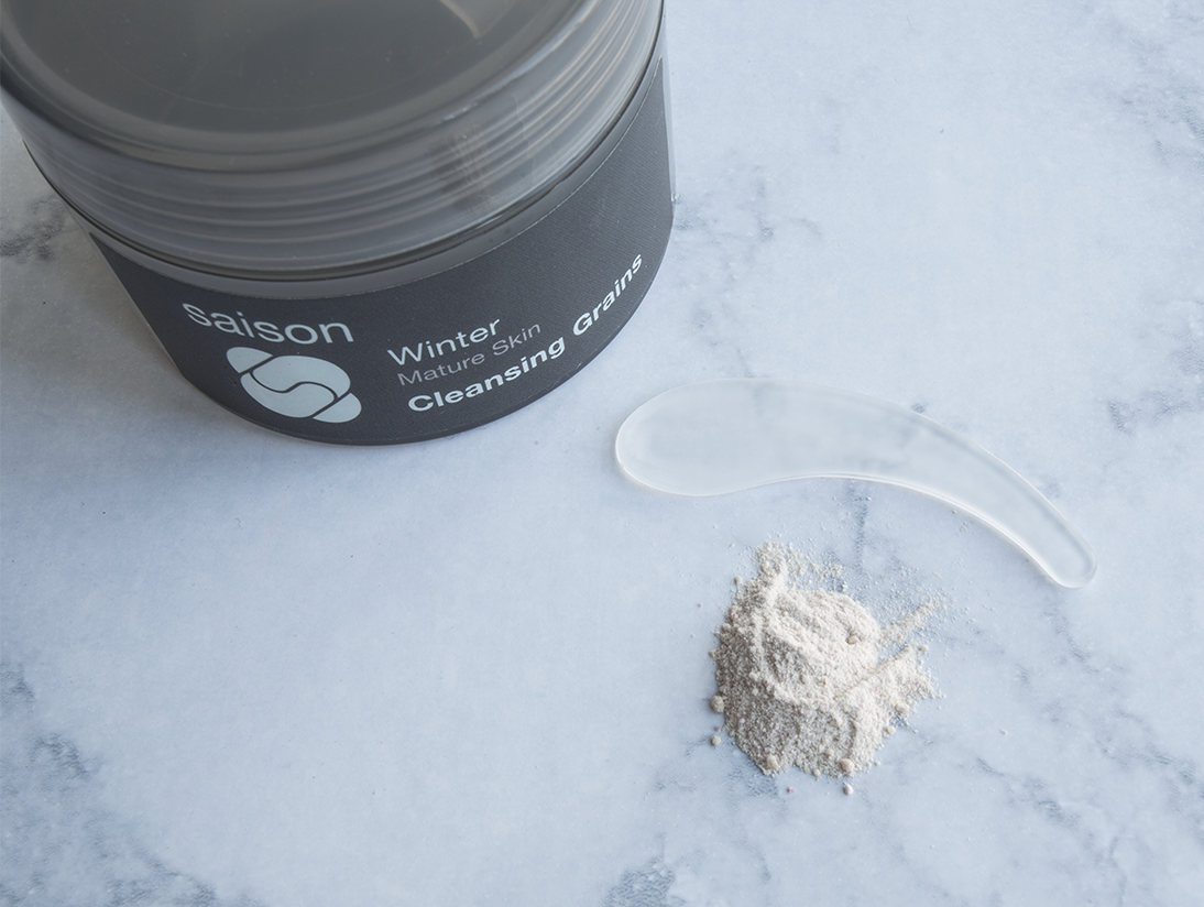 Saison Winter Skincare Tip: Exfoliate Regularly