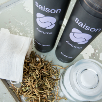 Saison Organic Cuppa Tea For Your Bath Winter Tip 1_Cleansing Oil | Saison Winter Skincare Tip: Exfoliate Regularly | Saison Organic Skincare San Francisco