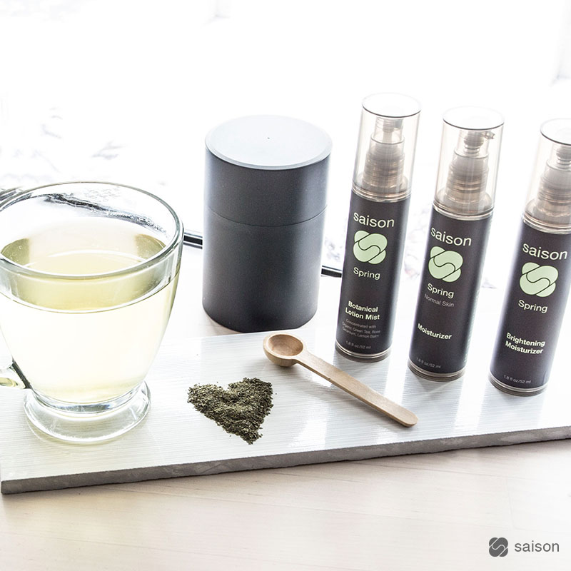 Green Tea Antioxidant Rich Skincare